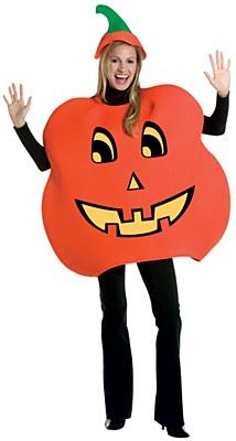 Jack-O-Lantern Pumpkin Adult Costume