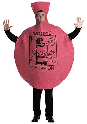 Whoopie Cushion Adult Costume