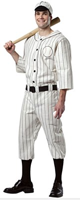 Old Time Baseball Uniform Adult Costume