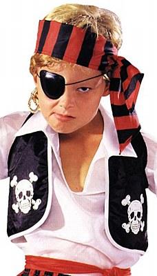 Child Pirate Vest