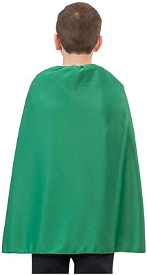 Super Hero Green Child Cape