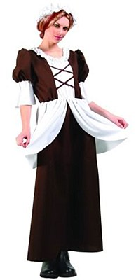 Colonial Lady Adult Costume
