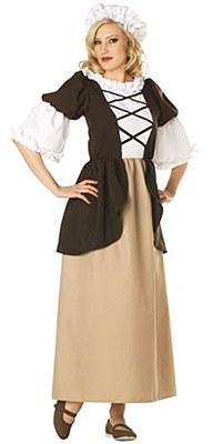 Colonial Peasant Adult Costume