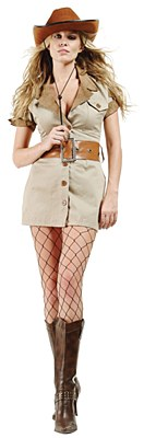 Safari Dress Adult Costume