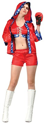 Knockout Boxer Adult Costume