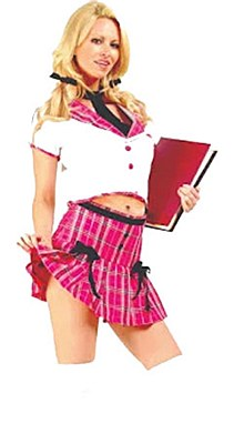 College Girl Adult Costume