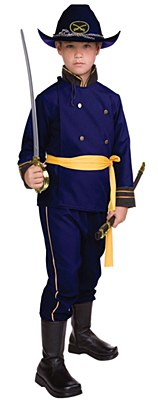 Union Officer Child Costume