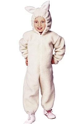 Lamb Child Costume