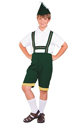 Bavarian Boy Child Costume
