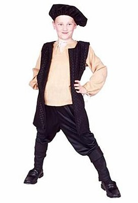 Renaissance Boy Child Costume