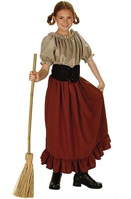 Renaissance Peasant Girl Child Costume