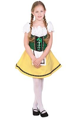 Bavarian Girl Child Costume