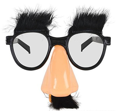 Groucho Disguise Big Nose Glasses
