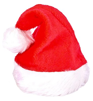 Santa Plush Child Hat