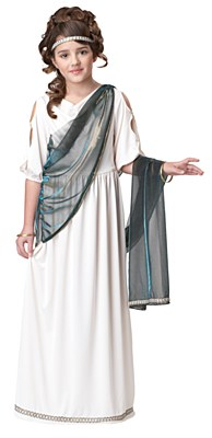 Roman Princess Athena Child Costume
