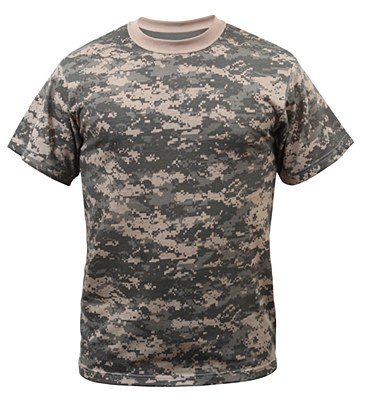 Army Digital Camo Adult Plus Plus T-Shirt