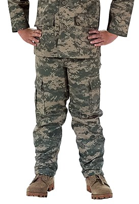 Army Digital Camo Child Pants