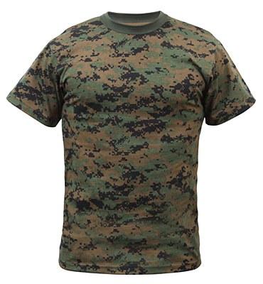 Army Woodland Camo Child T-Shirt