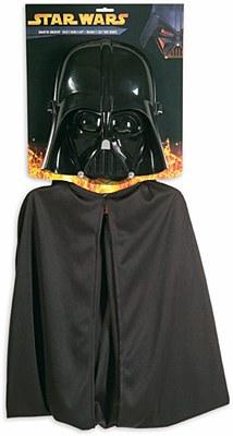 Star Wars Darth Vader Cape And Mask Set