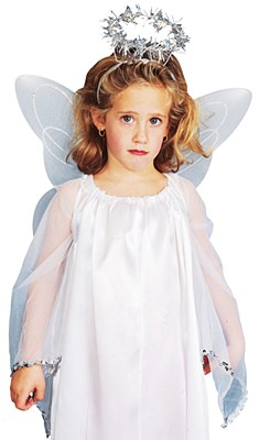 Angel Wings And Halo Child Set