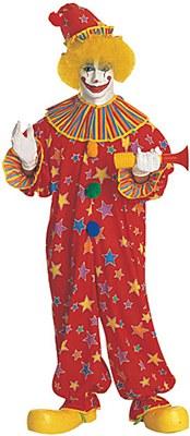 Star Burst Clown Adult Costume