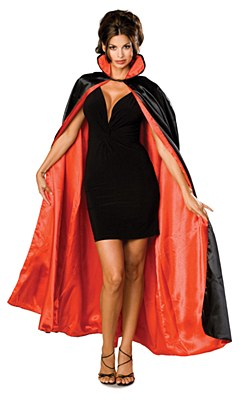 Vampire Lined Adult Cape
