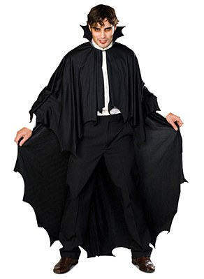 Scalloped Long Vampire Adult Cape