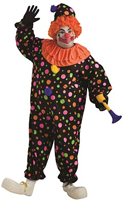 Clown Adult Plus Costume
