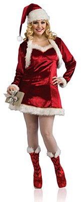 Sexy Mrs Claus Adult Plus Costume