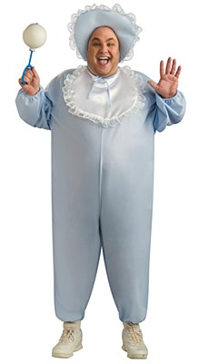 Baby Boy Adult Plus Costume