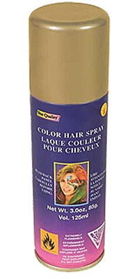 Hair Spray Color - Gold