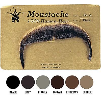 Human Hair Moustache Zapata