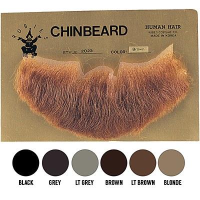 Human Hair Beard Three Point