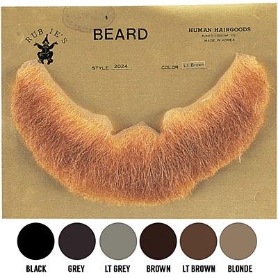 Human Hair Beard Full Character