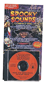 Sppoky Horror Sounds Effects CD