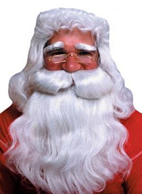 Santa Deluxe Wig And Beard Set