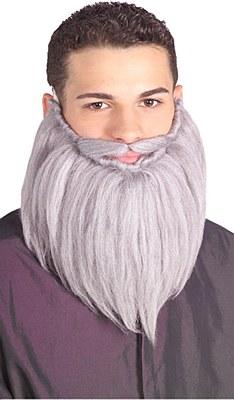 "Economy Full 8"" Grey Beard"