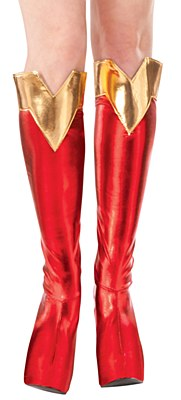 Supergirl Adult Boot Covers