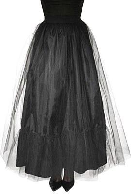 Souless Black Tulle Skirt