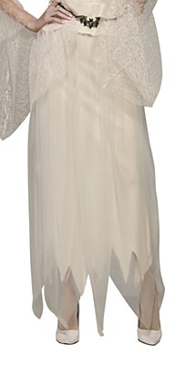 Souless White Tulle Skirt