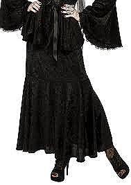 Gothic Velvet Mermaid Skirt