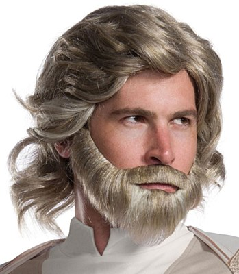 Luke Skywalker Adult Wig And Beard Set