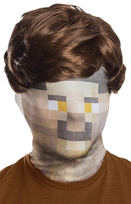 Digital Look Mask And Wig Set