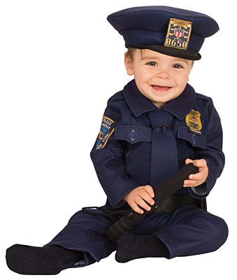 Police Office Infant Costume