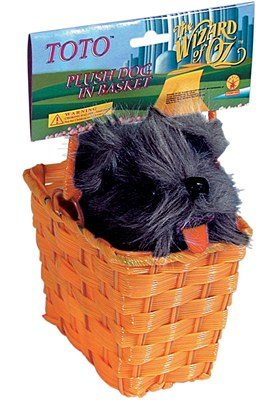 Dorothy Basket With Stuffed Toto
