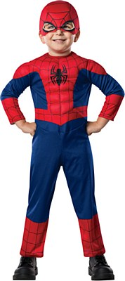 Spider-Man Comic Muscle Toddler Costume