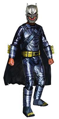 Batman Armored Deluxe Muscle Child Costume
