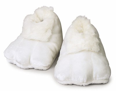 Bunny White Deluxe Adult Feet