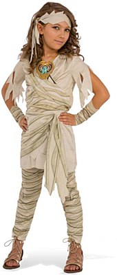 Undead Diva Mummy Girl Child Costume