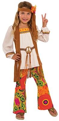 Flower Child Hippie Child Costume